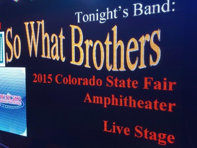 SO What Brothers Voted Best Cover Band Denver Colorado Best Wedding Band
